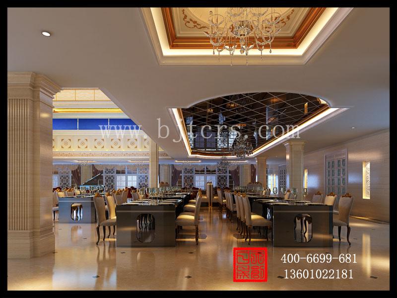 欧式西餐厅设计