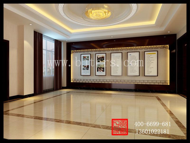 新中式餐厅门厅图