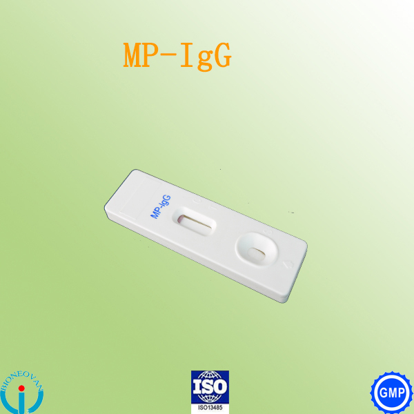 Mycoplasma Pneumoniae (MP)-IgG rapid test cassette