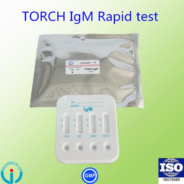TORCH-IgM(4 in 1) Cassette