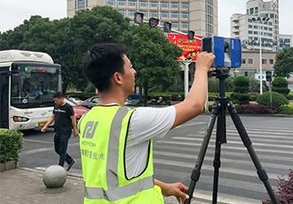 案例:湖南旅游城市街道三维激光扫描项目