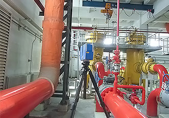 案例:电厂复杂管道快速建模实例|数字工厂|诺斯顿三维激光扫描