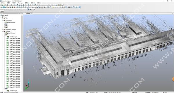 三维扫描精彩案例集锦之数字化工厂