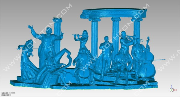 【诺斯顿】你是否能从雕塑作品中感受到历史的厚重感——大型群雕三维扫描案例