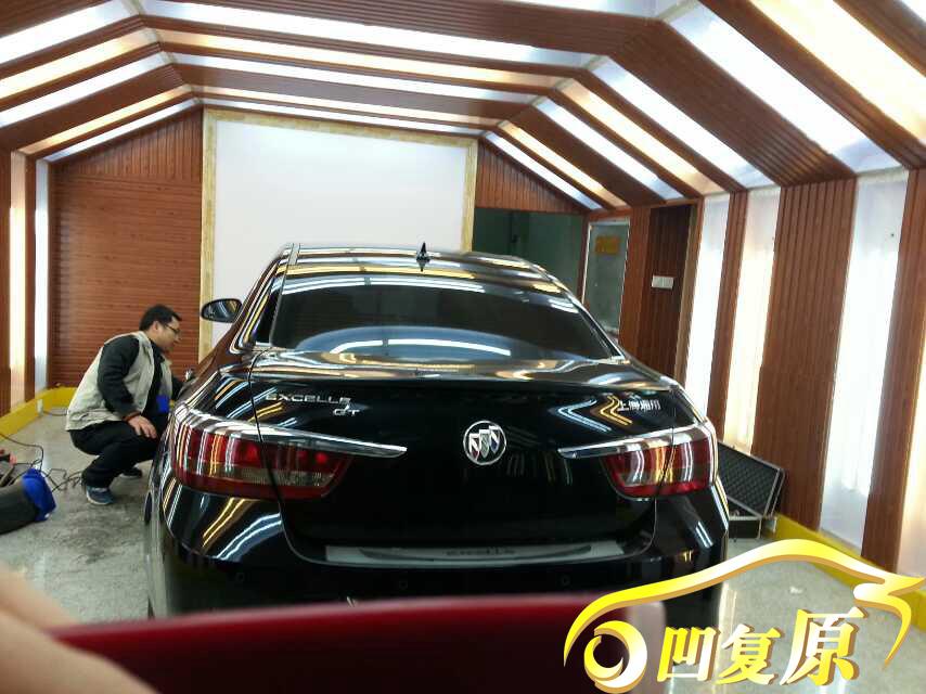 上海通用别克车门筋线凹陷修复