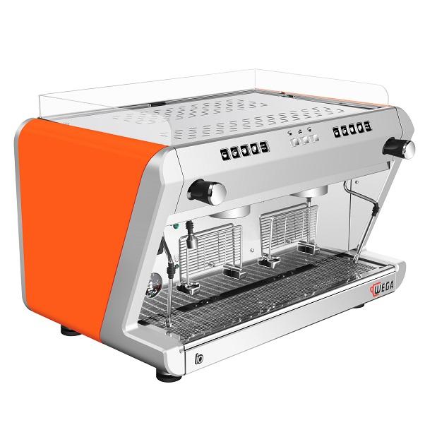 wega IO 双头电控咖啡机(亮橙色)