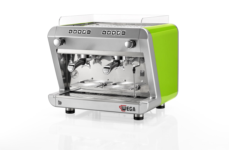 IO(伊欧)窄双头电控半自动咖啡机