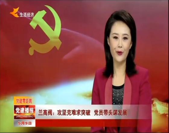 兰州电视台:yabo408 攻坚克难求突破 党员带头谋发展
