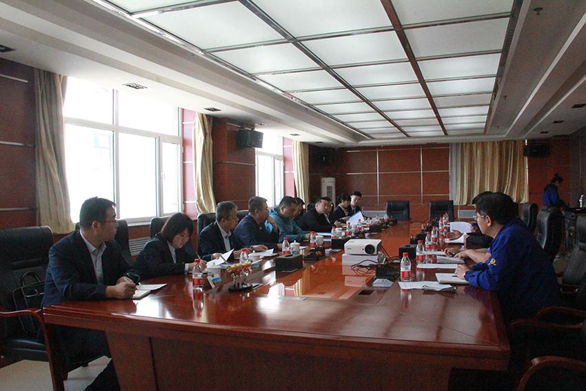 甘肃省农村信用社联合社副主任石海龙一行来我公司调研
