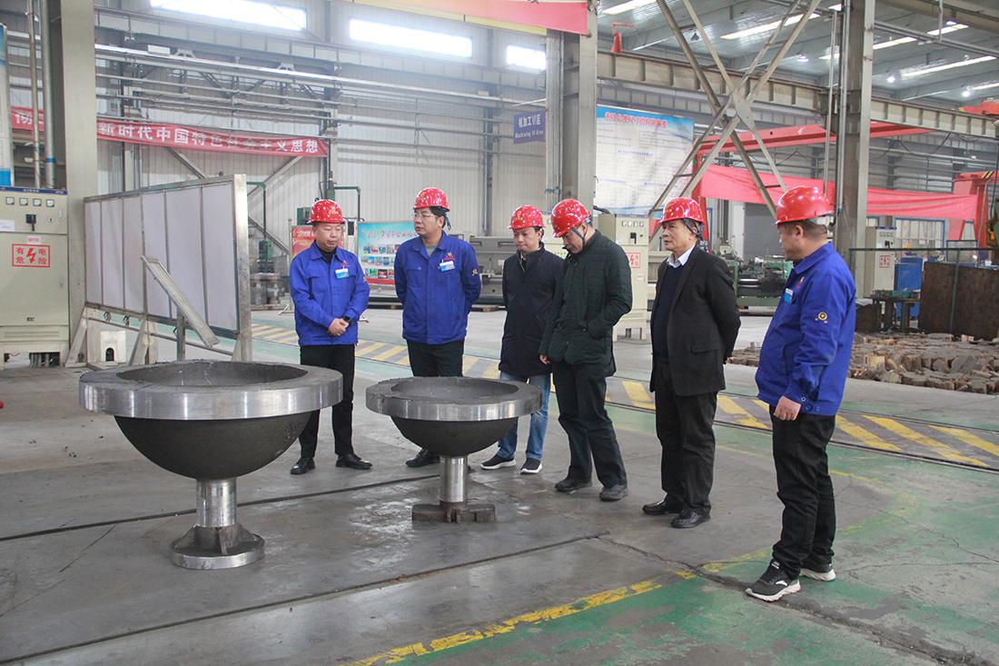 广东石化寰球项目部领导莅临公司参观考察