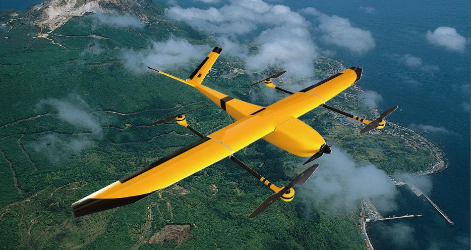 云影C200型电动垂直起降固定翼无人机