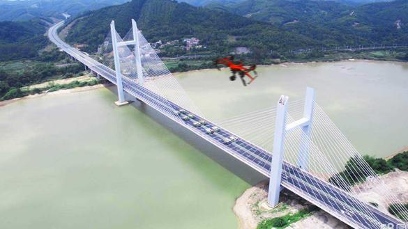 哈瓦无人机路桥建设行业应用解决方案