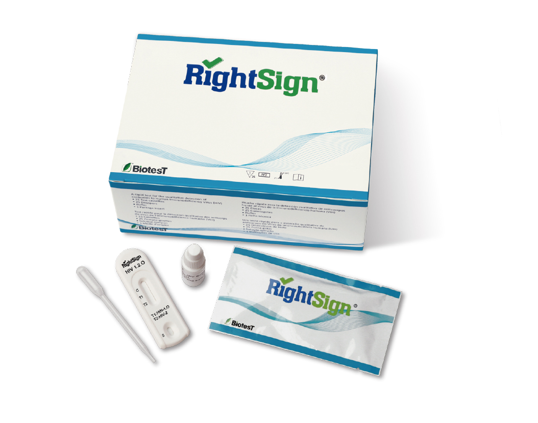 Picture of HIV 1.2.O Rapid Test Cassette