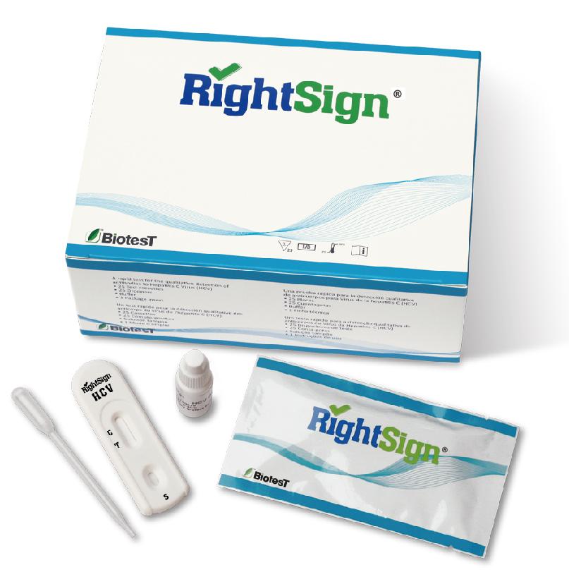 Picture of HCV Rapid Test Cassette