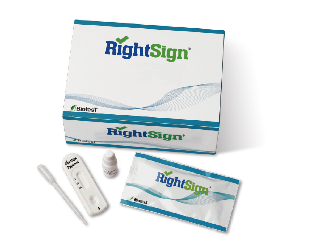 Picture of Typhoid Rapid Tests