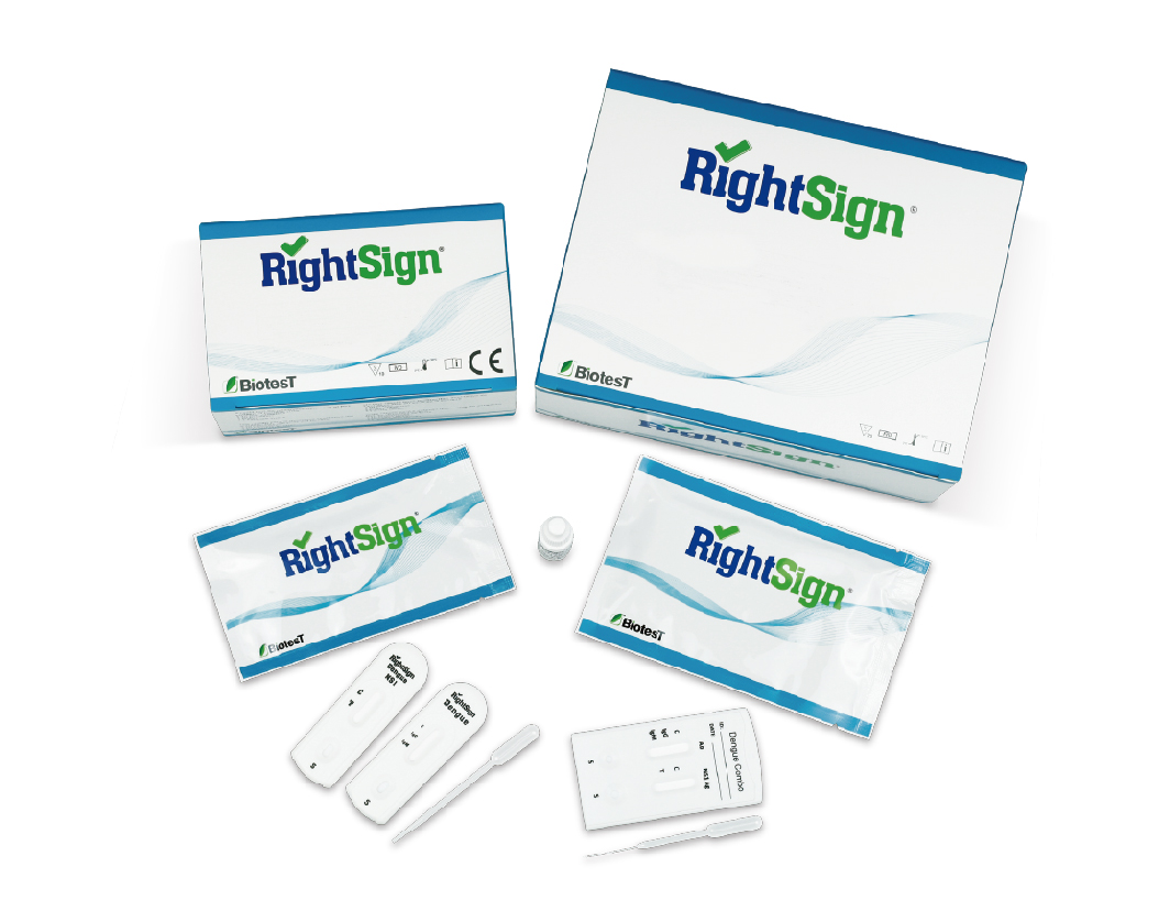 Picture of Dengue Rapid Tests