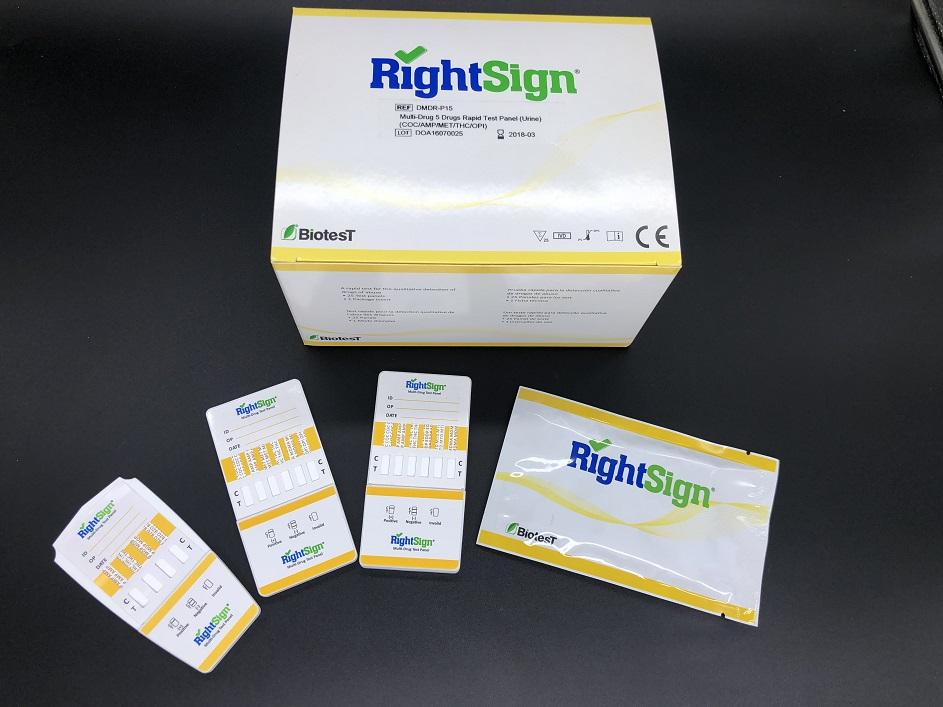 Picture of  Multi-Drug Rapid Test (Panel)