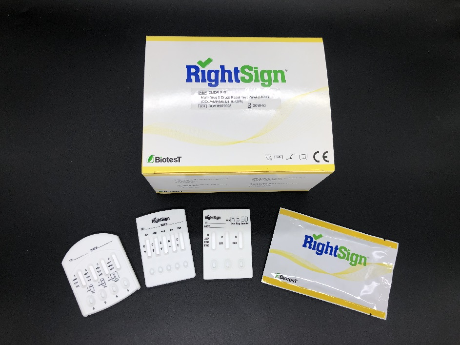 Picture of Multi-Drug Rapid Test (Cassette)