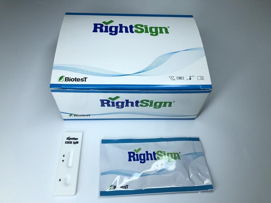 Picture of Chikungunya IgG/IgM Rapid Test