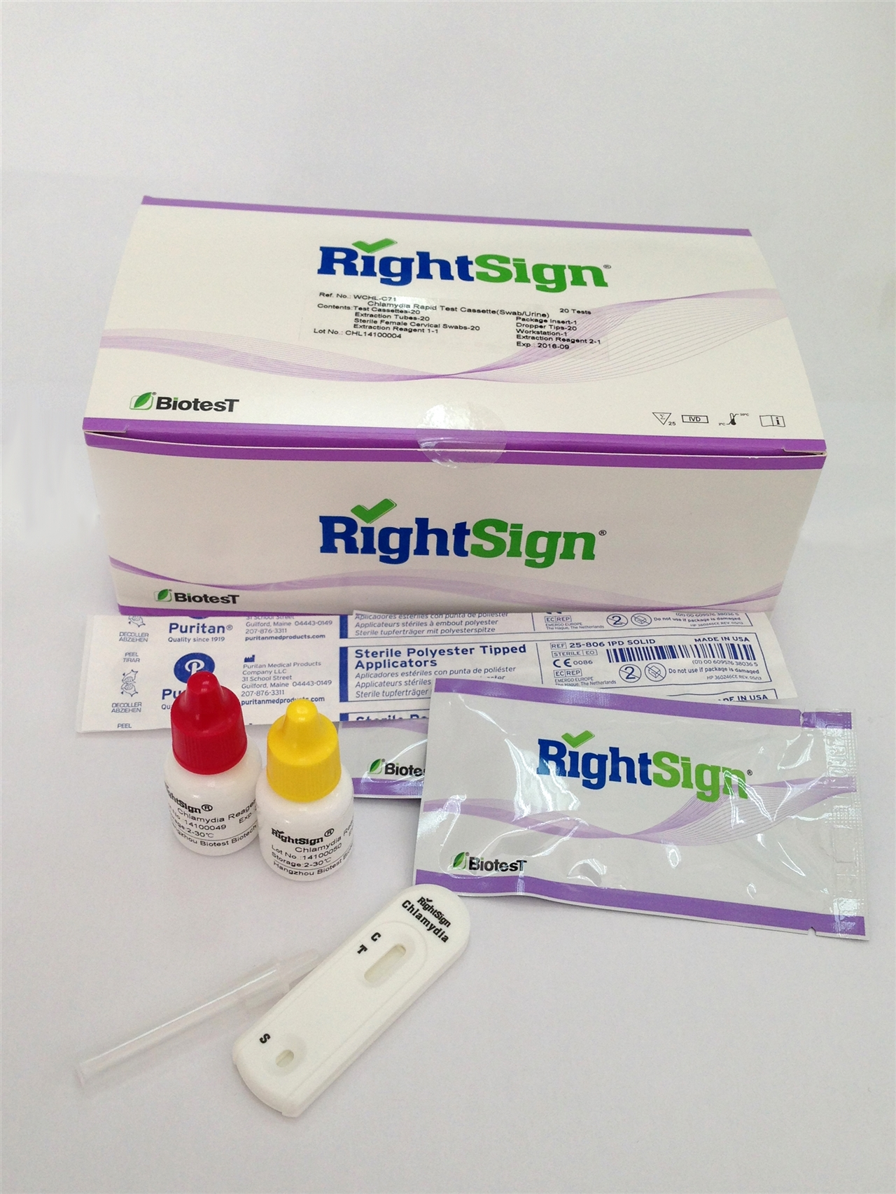 Picture of Chlamydia Rapid Tests