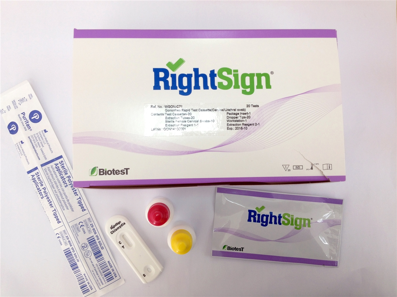 Picture of Gonorrhea Rapid Tests