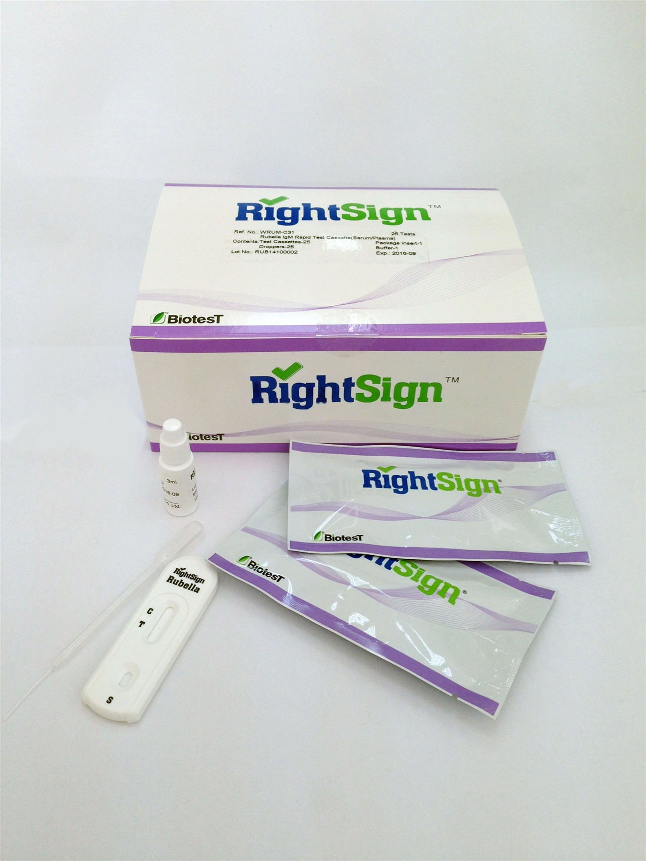 Picture of Rubella IgM Rapid Tests