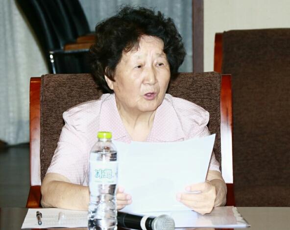 常务副秘书长华源女人士在理事会发言