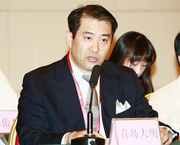 学会副主席青岛大明(日本)致贺词