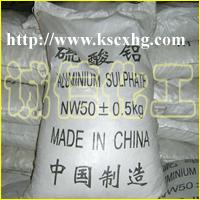硫酸铝 aluminium sulfate