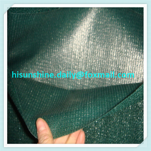 HDPE Green waterproof shade net