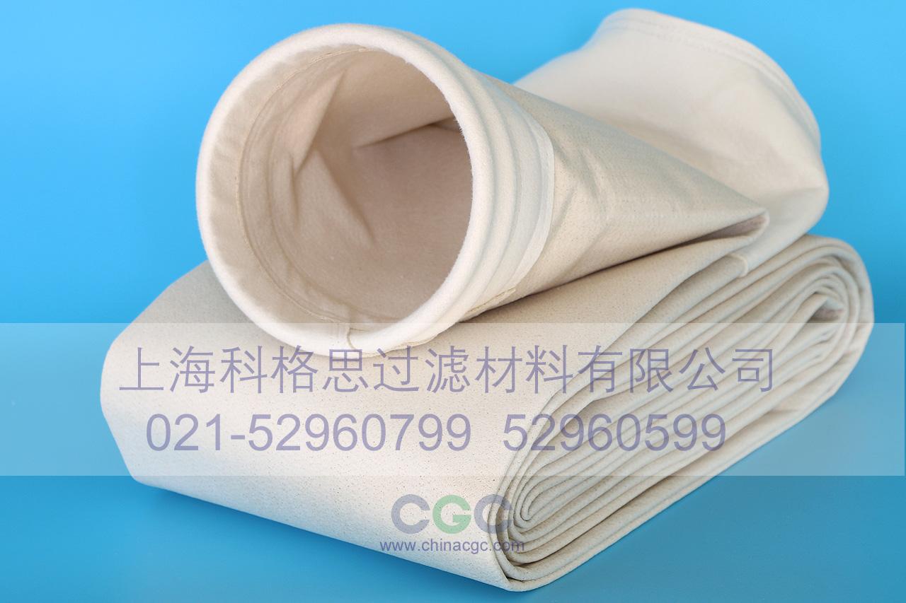 PPS耐高温、耐酸碱针刺过滤毡除尘滤袋