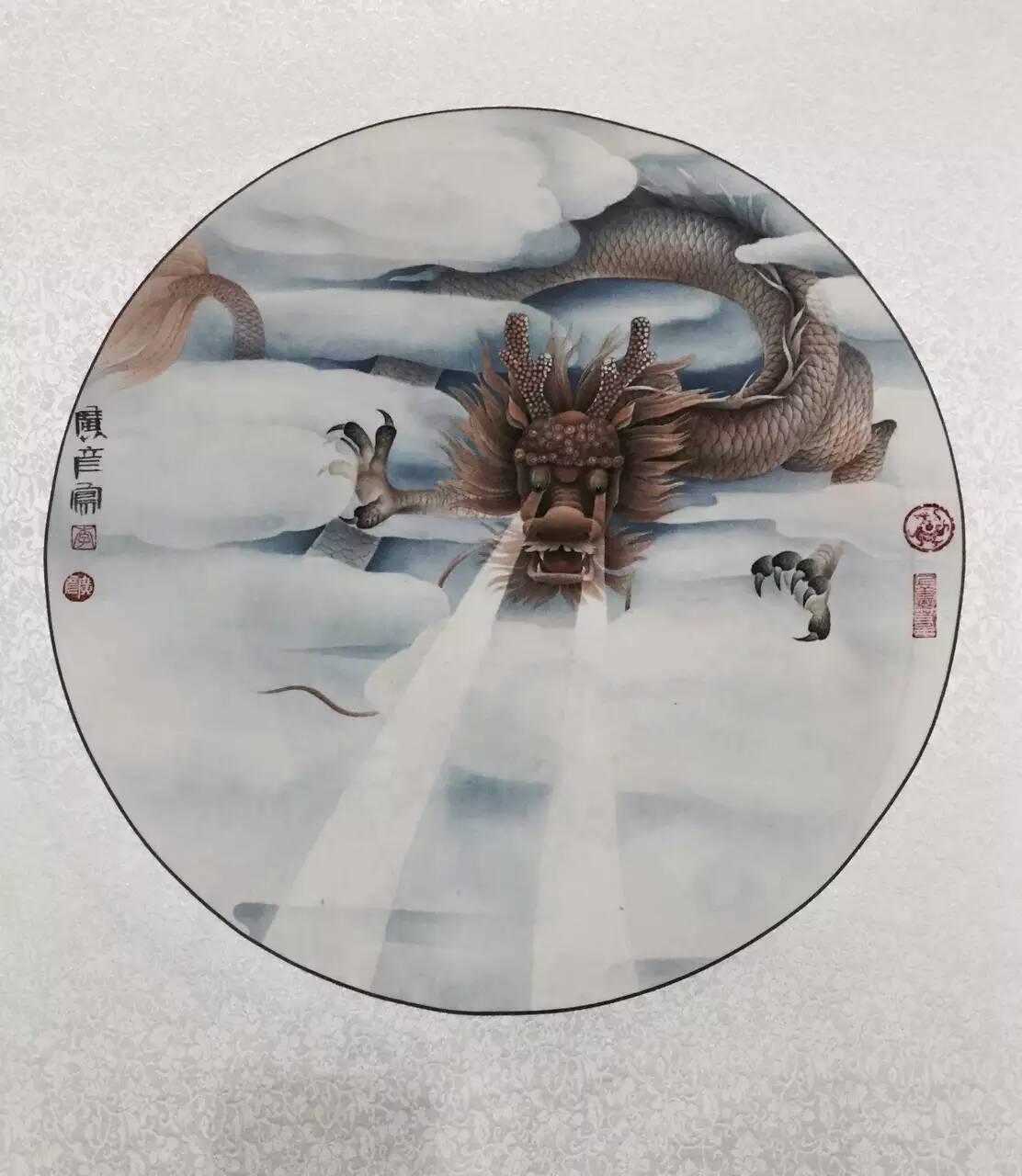 李广彦大师国画之一12生肖系列
