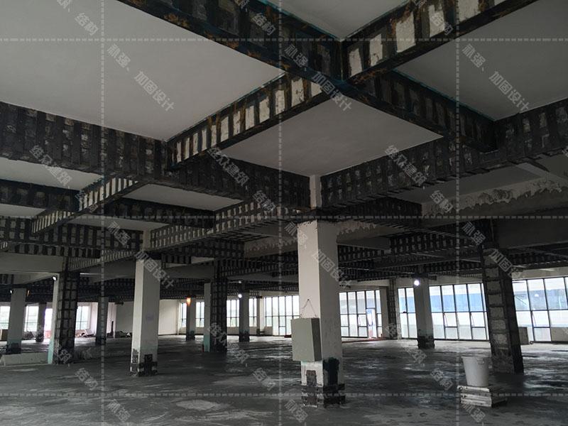 广州厂房机房设备荷载承载力加固补强工程