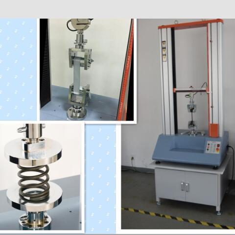 20kN汽车配件拉压力试验机 2吨塑料件抗压强度测试机