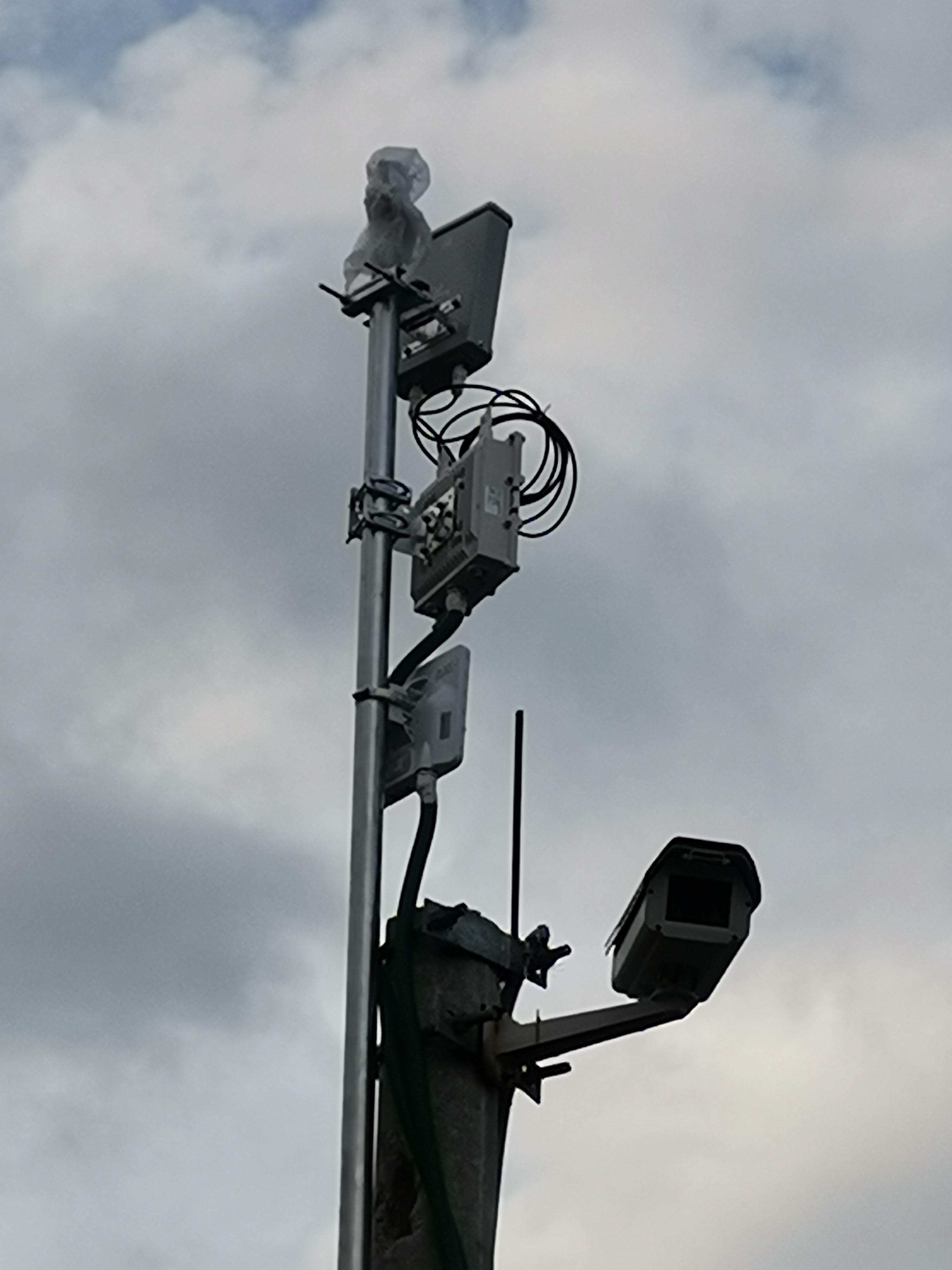 铁路机车作业视频监控无线漫游传输