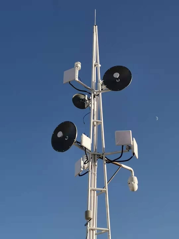 高海拔草原牧草生长态势监测数据无线组网传输
