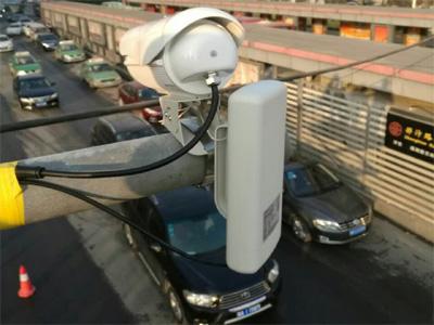 无线网桥在车流量监测上应用