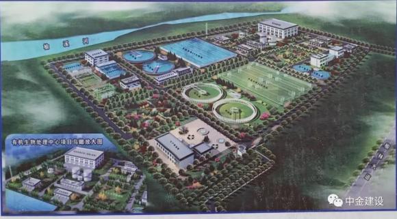 中金建设成功中标福彩3D走势图污水处理厂项目