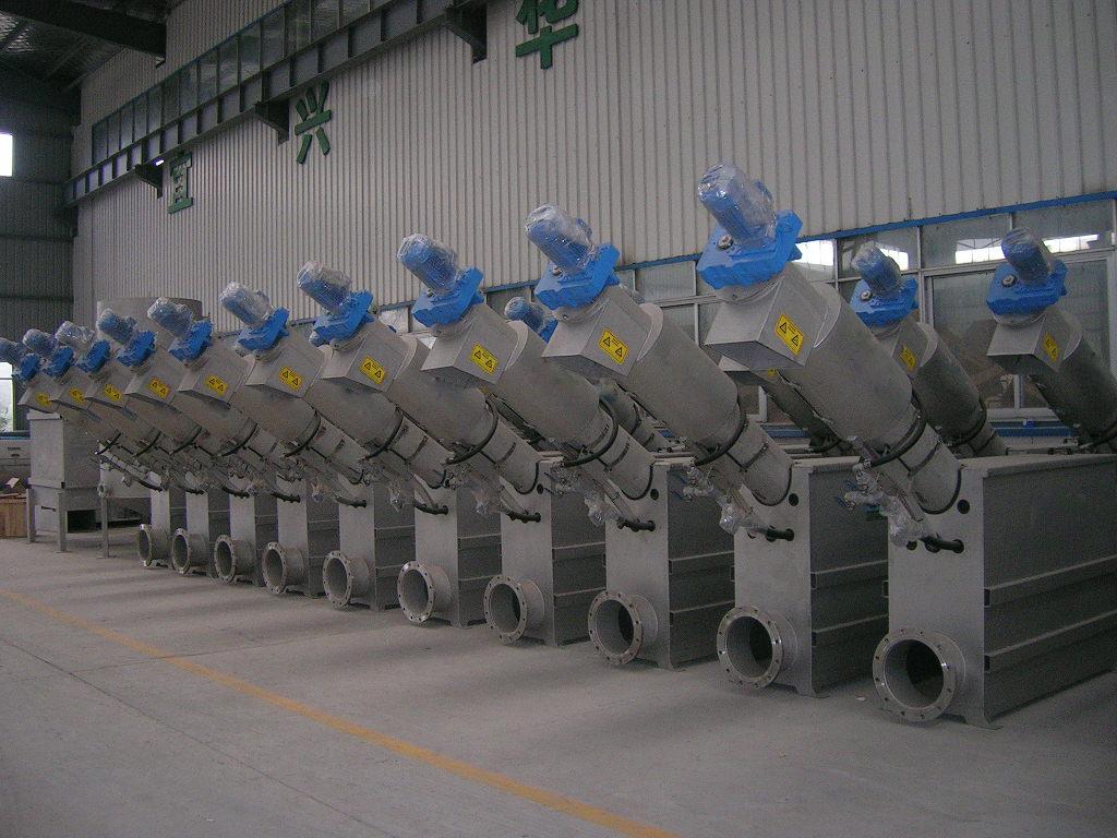 RO9系列螺杆式过滤装置