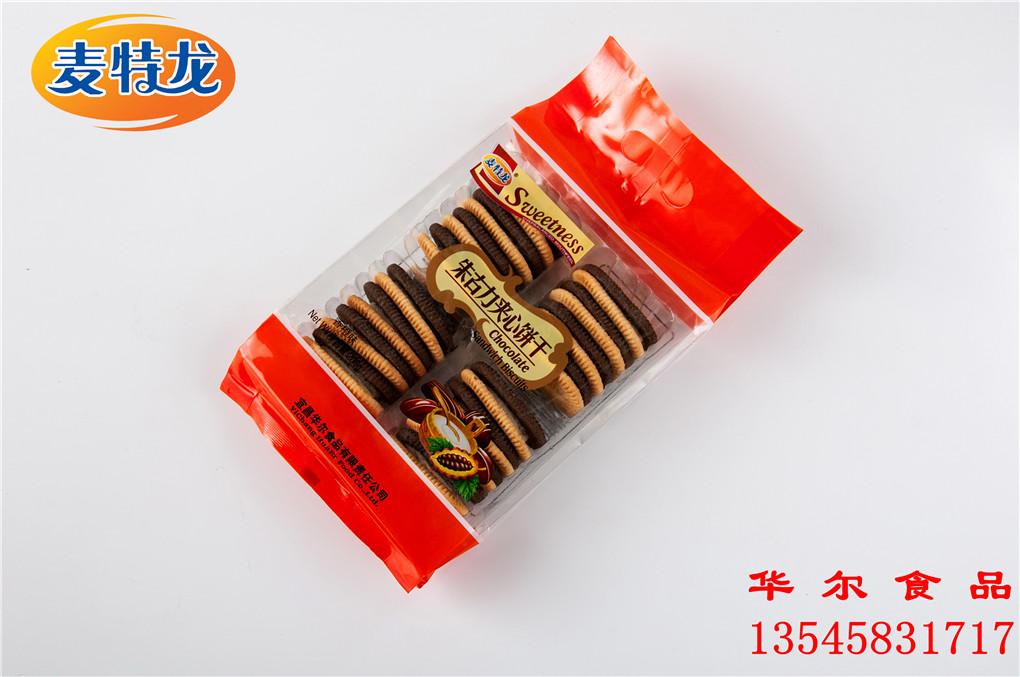 200g亚虎手机客户端龙朱古力夹心饼干(香橙味)