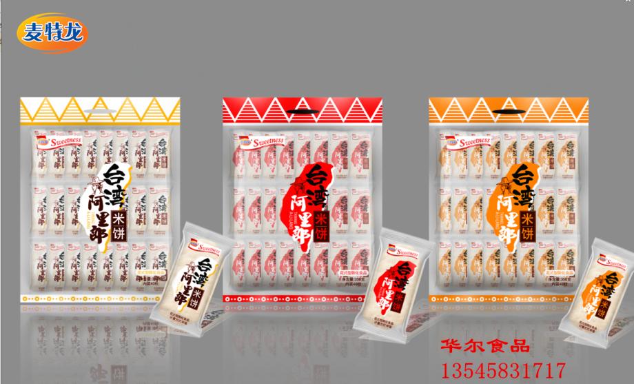 350g袋装亚虎手机客户端龙台湾阿里郎米饼