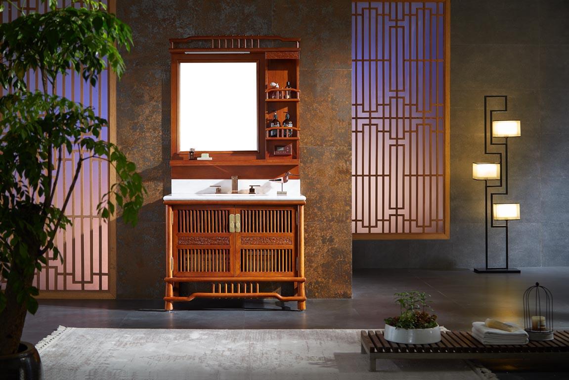 如何辨别真假实木浴室柜?