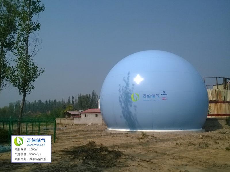 密云1500方双膜储气柜(2)