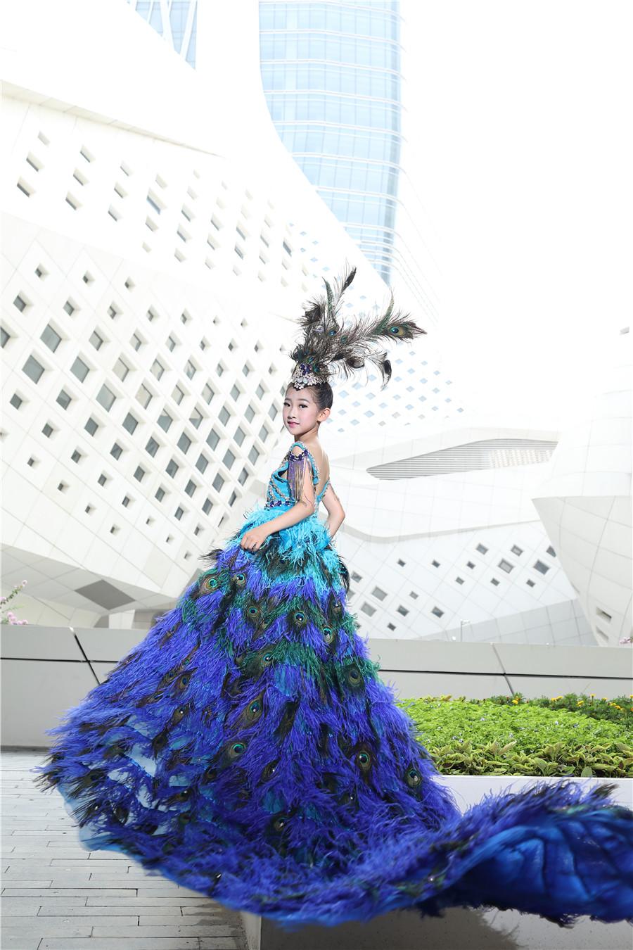 孫鐿宸—2017第六屆SKMD中國國際超級少兒模特大賽——兒童組冠軍