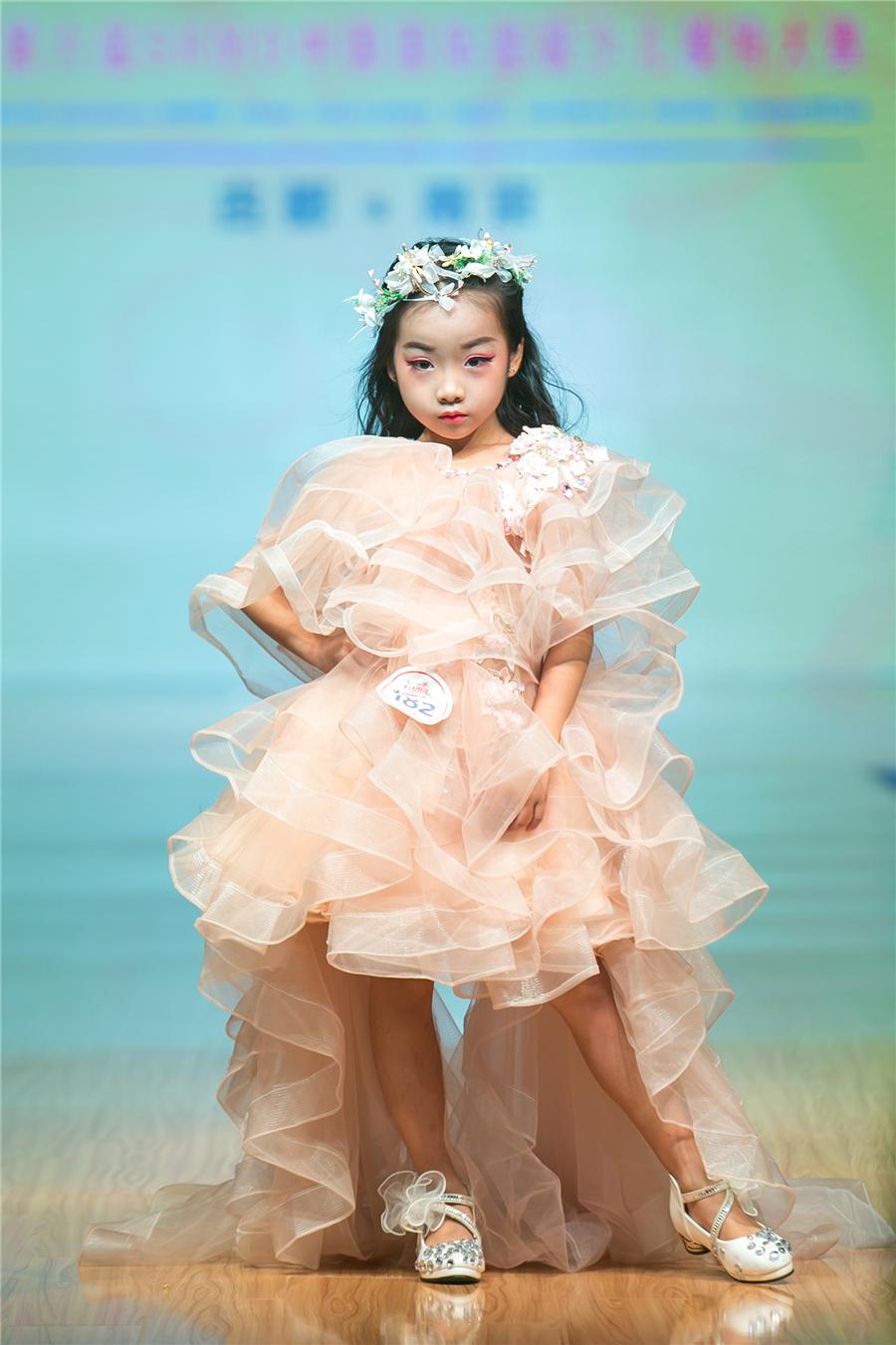 林米雪—2017第六屆SKMD中國國際超級少兒模特大賽——兒童組亞軍