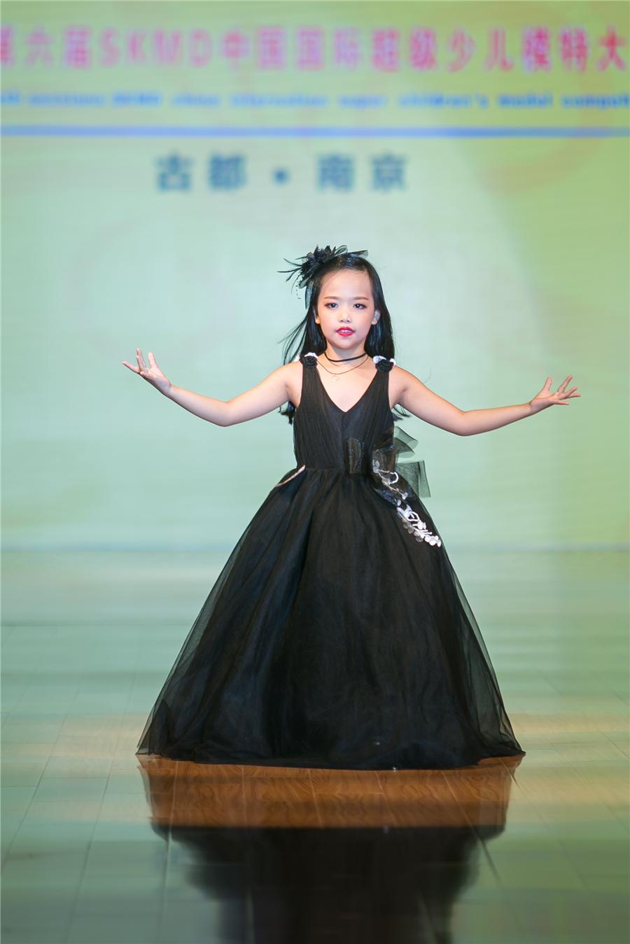 包子涵—2017第六屆SKMD中國國際超級少兒模特大賽——幼兒組冠軍