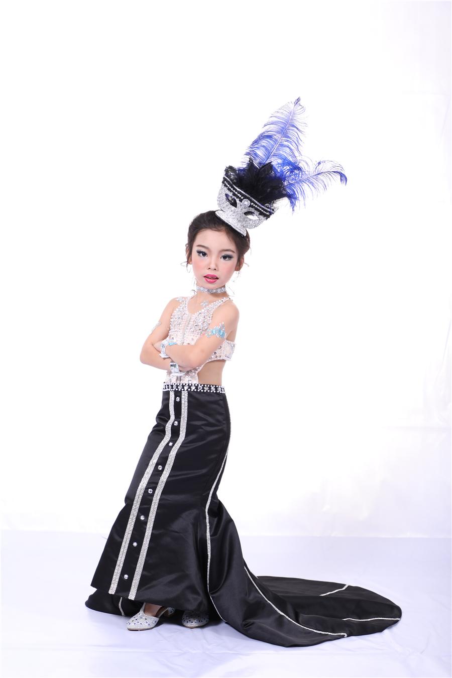 戴瑞—2017第六屆SKMD中國國際超級少兒模特大賽——幼兒組亞軍