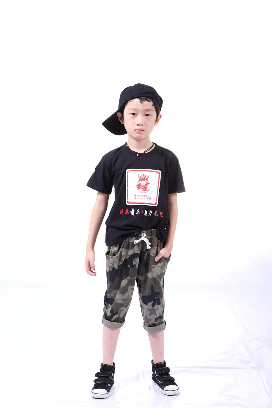 周昂——2017SKMD中國國際超級少兒模特大賽——幼兒組金獎