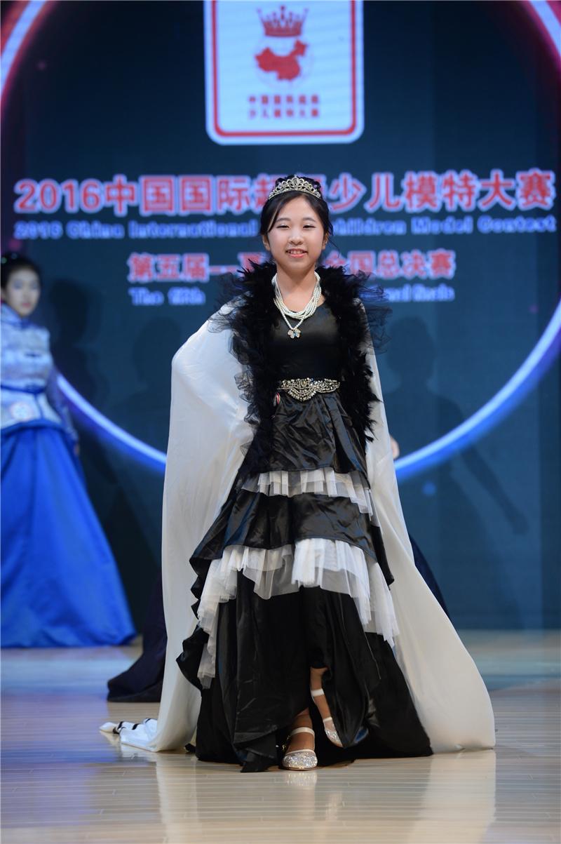 王盈如—2016SKMD中國國際超級少兒模特大賽——少年組季軍