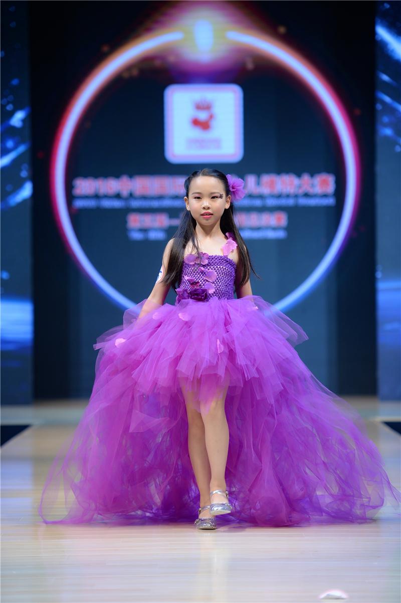 朱韓羽—2016SKMD中國國際超級少兒模特大賽——兒童組季軍